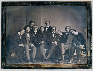 Photo of Hutchinson Family Singers 1845