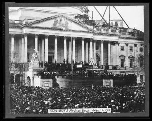 Lincoln's Inauguration - March 4, 1861